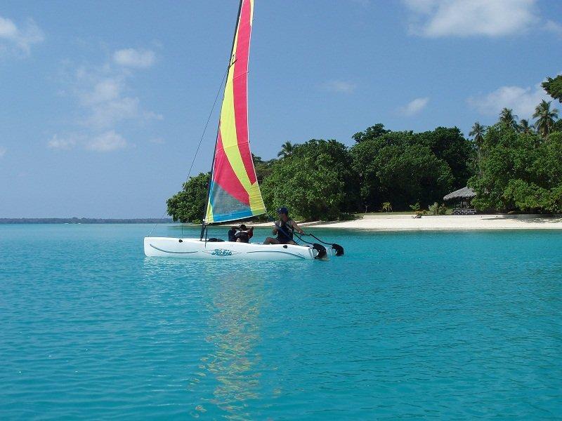 Horseriding vanuatu sailing